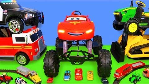 创意玩具车手工:如何快速组装大号闪电麦昆?看完我就转发了