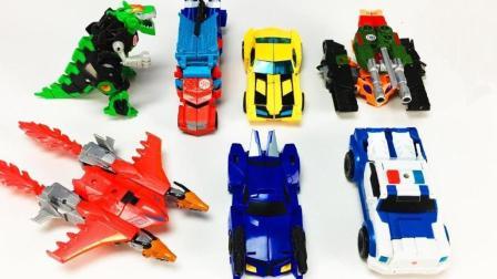 龙虾造型的变形金刚机器人