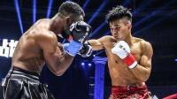 中国猛男飞膝撞晕日本拳手