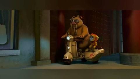 小悟空:骑着三轮电动车的猪八戒跟大森?