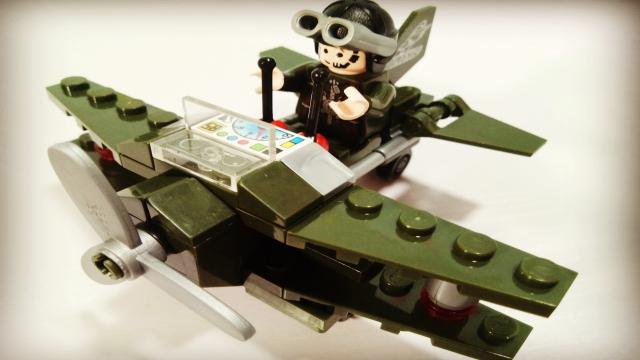 军事战队之直升机 侦察机积木玩具 亲子玩具视频