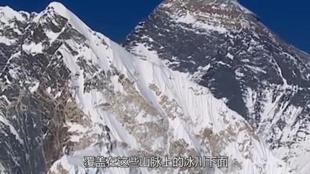 喜马拉雅冰冻千年的湖泊融化, 湖底露出的东西, 至今还是谜团
