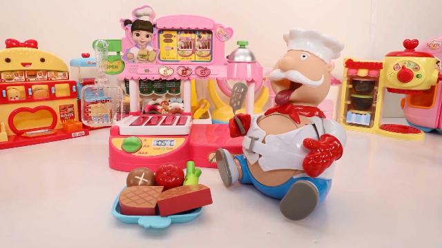 宝宝巴士玩具—投币机里各种美味的饮料,却被鲨鱼拿了怎么办