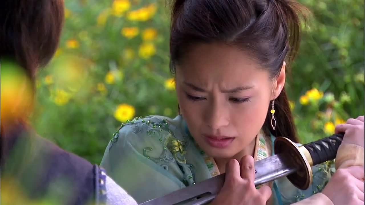 【情剑】珠儿为了爱情,宁愿死在大藏的刀下