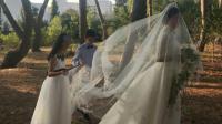 金星和汉斯结婚时的照片,网友:你为何如此美?