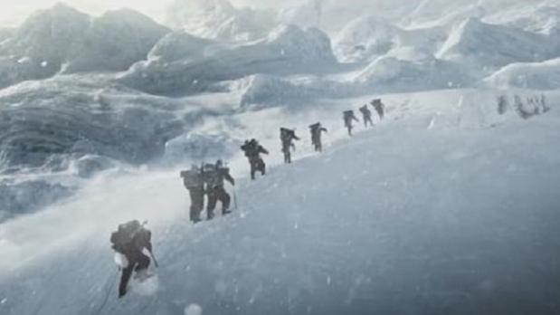 """吴京《攀登者》预告片曝光,这句宣传语比""""战狼""""还燃!"""