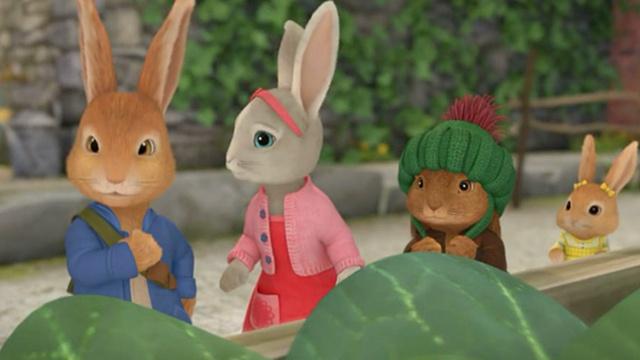 【比得兔】好兔子绝不放弃