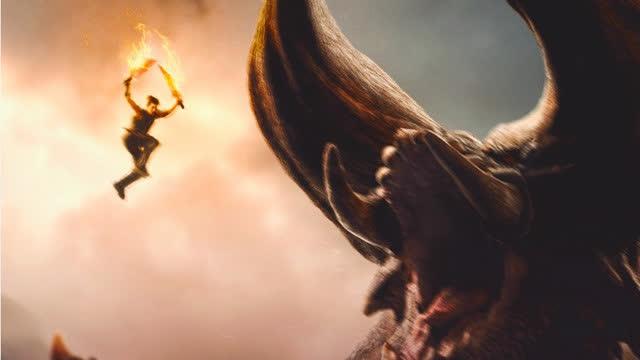 【怪物猎人】惊艳视效开启异世狩猎