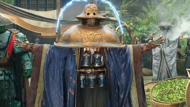 古代人打造出一身铠甲,只要穿在身上,就能随时召唤出闪电!