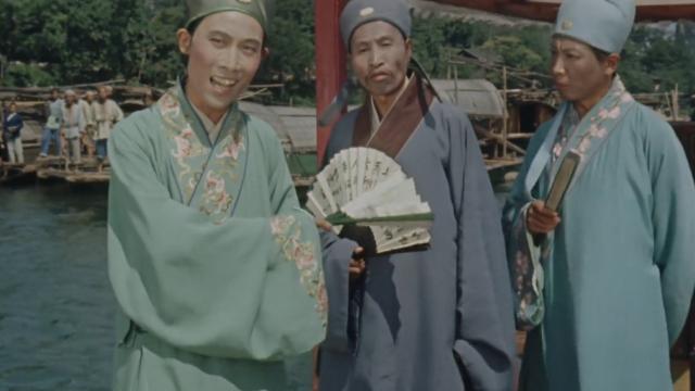刘三姐和三大才子对山歌,简直毫不逊色,太精彩了