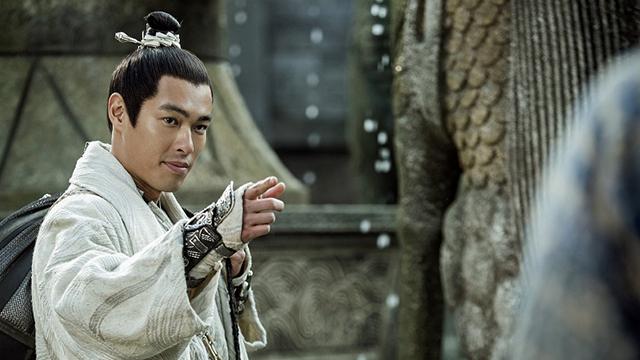 【捉妖记2】杨祐宁颜值与武力值兼备,演绎最爱吊威亚大侠