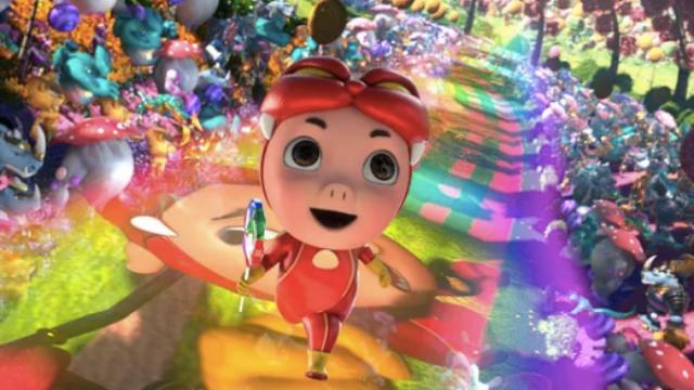 【猪猪侠·不可思议的世界】欢乐冒险