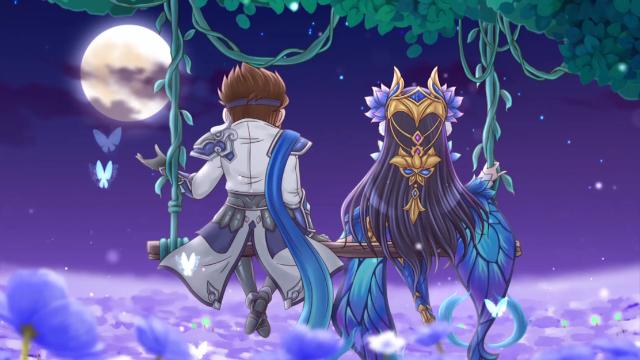 王者歪传动画:貂蝉妹妹想和子龙哥哥在月下浪漫,吕布哭了