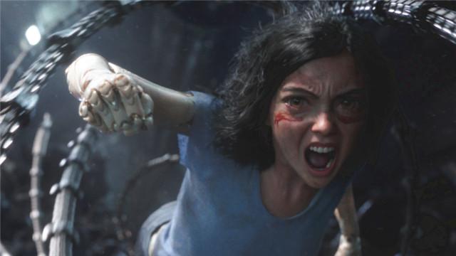【阿丽塔】卡梅隆新片科幻巨制 战力最强少女杀出宇宙