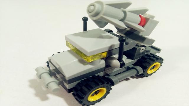 积木玩具乐园 军事战队系列之战鹰 亲子玩具视频