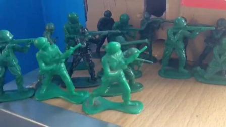 两军对垒胜者为王! 军事城市推进街巷保卫战 儿童玩具故事