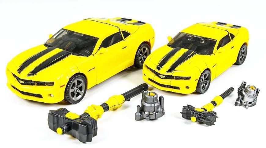 变形金刚电影杰作MPM3大黄蜂机器人玩具模型