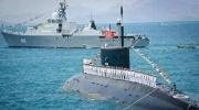 越南潜艇跟踪中国舰队