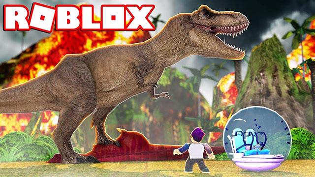 阿火roblox乐高游戏146: 侏罗纪世界恐龙