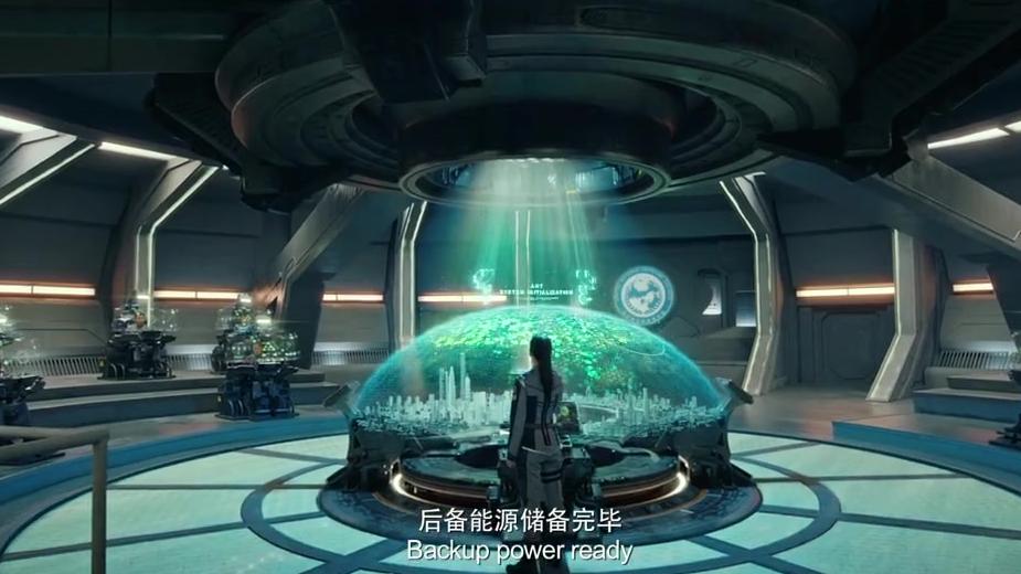 《上海堡垒》首曝未来战场,鹿晗舒淇热血开战外星母舰