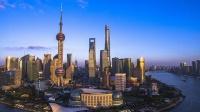 2019黃浦江光影秀 開放的上海歡迎你