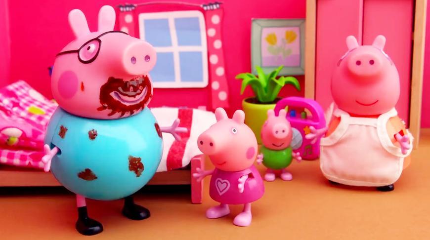 猪爸爸是生什么怪病了,竟然一睡不醒?小猪佩奇第四季玩具故事