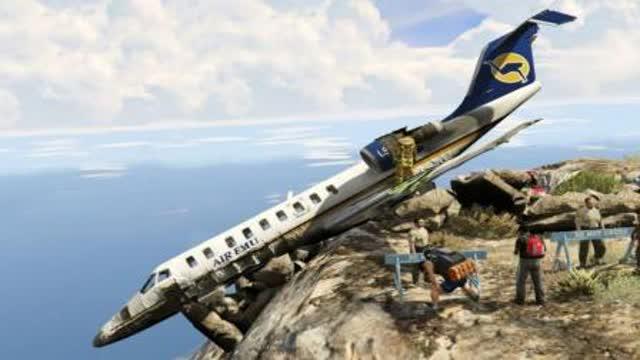 危险的飞机着陆,佩服老机长这种情况还能安全着陆!
