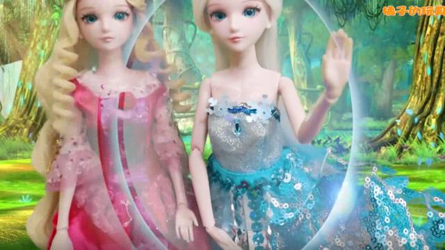 搞笑版叶罗丽故事 灵公主和冰公主来到人类世界 很嚣张啊