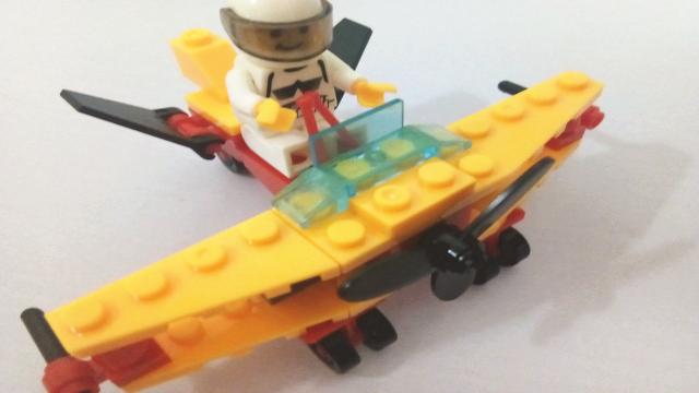 乐高积木玩具 军事战队之天鹰侦察机 直升机 亲子玩具视频