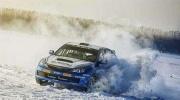 直击赛车雪地漂移