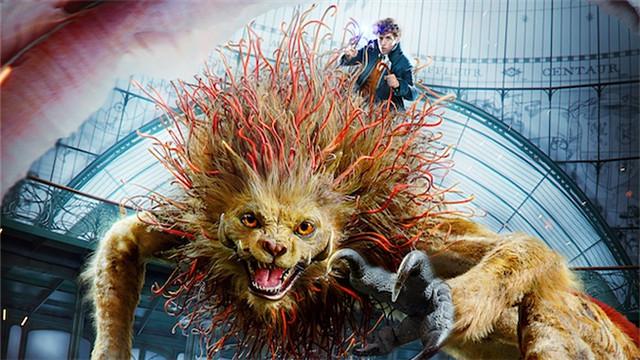 """【神奇动物2】首周末劲收2.59亿票房 """"驺吾现世""""片段霸气外露"""