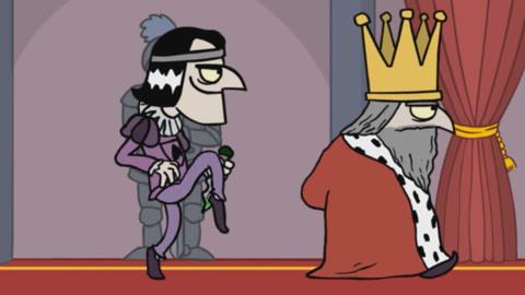国王?;刂匦⌒纳砗蟮拇炭?刺杀国王游戏