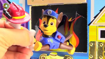 旺旺巡逻队玩具,马歇尔消防救援奇遇玩具