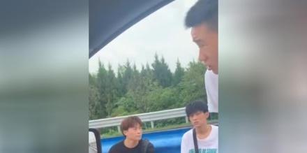 暖心!3名小伙被困郑州高速路口.路过好心司机免费带离