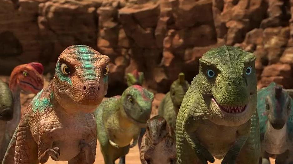 【恐龙王】沙漠出现绿洲