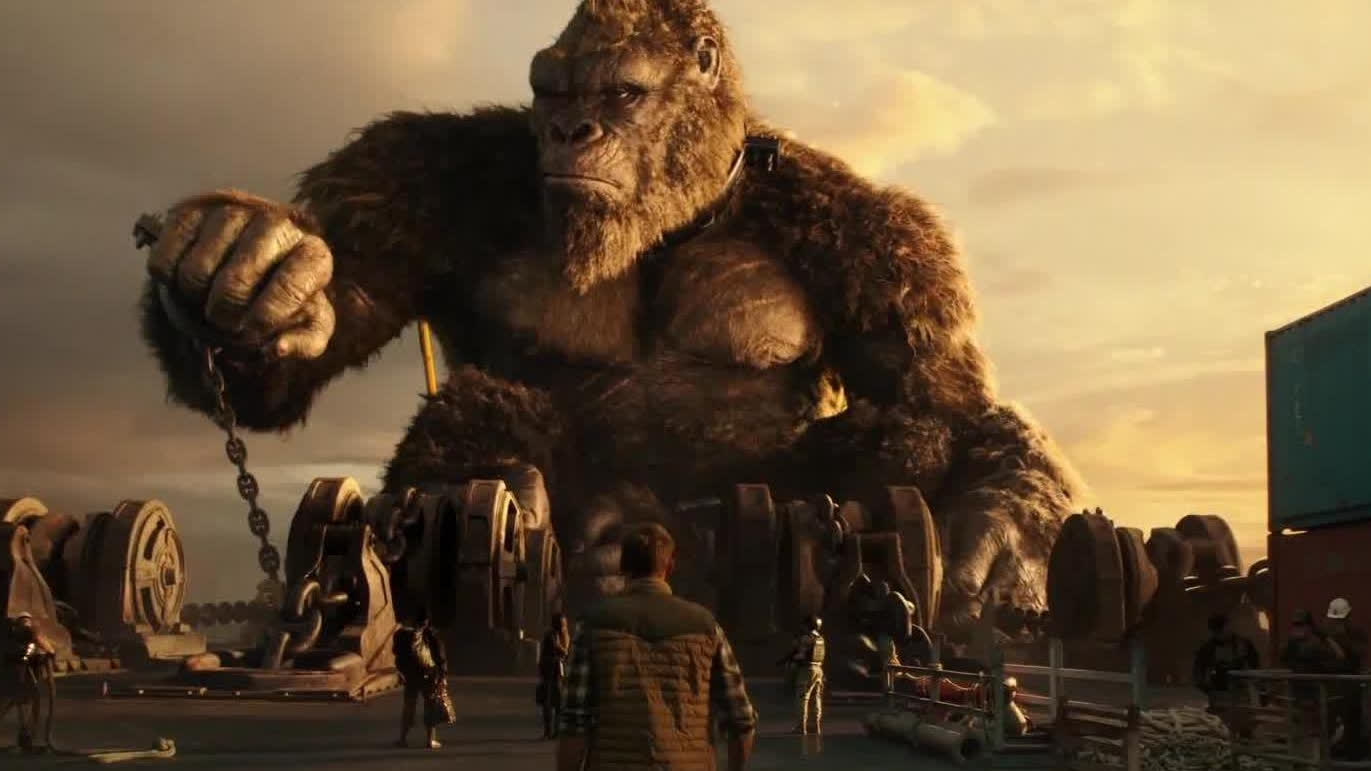 【哥斯拉大战金刚】主创特辑 导演力荐体验巨兽对决非IMAX莫属