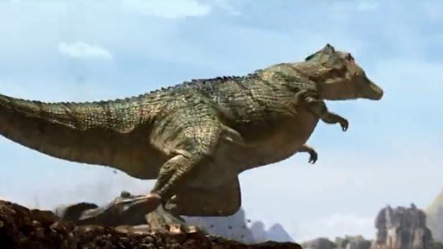【恐龙王】小恐龙被恐爪龙夺走